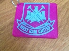 West Ham Keychain