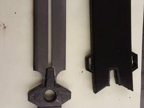 Hei's Dagger (Darker than Black Cosplay)