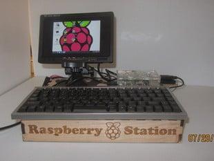 Raspberry Pi Workstation/dock. Laser cut.