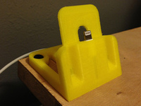 iPhone 6 dock yellow