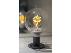 IKEA Nittio bulb lamp stand