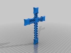 Cruz de estilo barroco / Baroque style cross