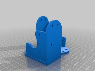 Polargraph Motor Mounts