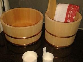 Japanese Onsen Buckets