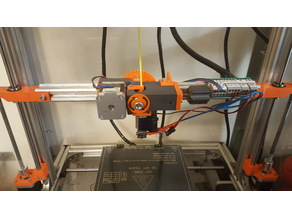 Geared Extruder using M8 extruder driver