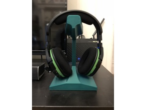 Rail Section Headphone Stand