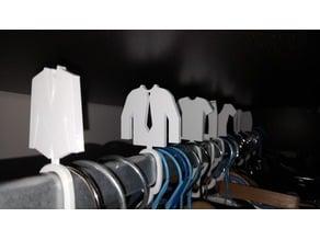 wardrobe separator