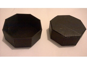 Octagonal Storage Containers