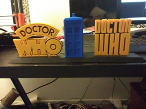 Doctor Who Book Ends