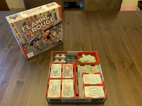 Flamme Rouge Organizer (with Peloton Expansion)
