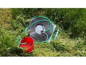 Solar water heater pump