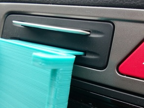 Phone Holder for Car using card slot