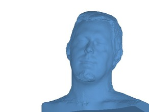 My Face scanned