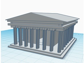 Greek Parthenon (VERY SMALL)