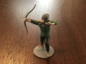 Medieval Archer Miniature