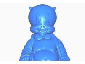 Porky Pig Buddha (Retro Collection)