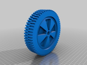 Wheel small for garden equipment