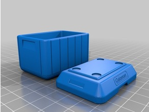 1:10 Scale Cooler - coleman