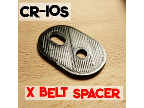 CR-10s X Tensioner Spacer