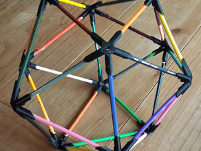 pencil construction iscahedron builder