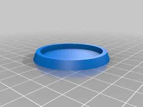 40mm base to 50mm base adapter