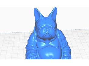 French Bulldog Buddha (Canine Collection)