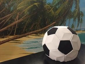 DIY football-loudspeaker