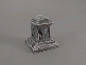 Grave Stone Worn