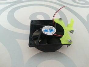 Customized 80mm Fan Mounting Bracket