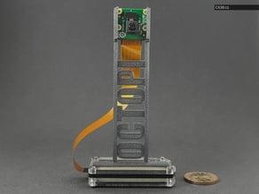 Tom's Raspberry Pi Zero Camera Mount for Zebra Case V1