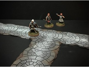 Delving Decor: Modular Roads (28mm/Heroic scale)