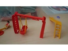 Playmobil swing set ladder