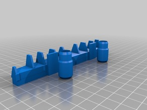 rear diffuser. An original by me for 1:10th scale rc cars