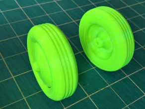 RC Plane 65mm wheel