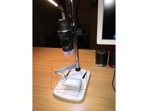 Ruler Holder For Digital Magnifier