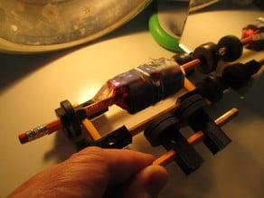 3D Printed Mendocino Motor Parts