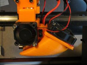 E3D-v5 Fan Dual Assembly for Makergear M2