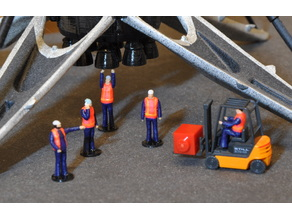 model train figures 1/87 scale (H0)