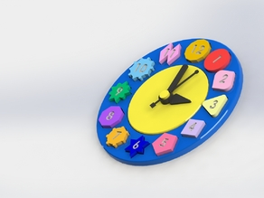 Teaching Clock Toy For Kids