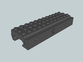 Picatinny Lego Rail adaptor