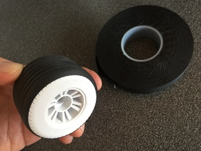 Palmiga Open RC F1 Wheels for rubber vulcanizing tapes