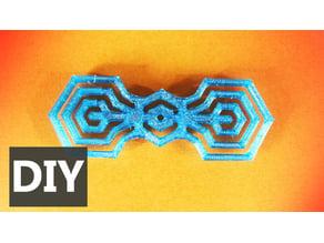 Corbata de moño Hexa - Hexa bow tie