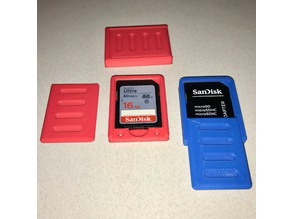 SD Card Single Case Holder