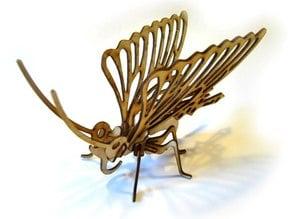 LaserCut - 3D Puzzle Butterfly