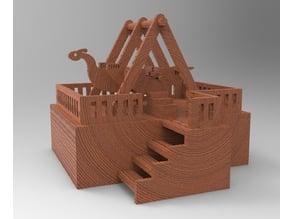 Viking Ride 3D printer & LaserCut