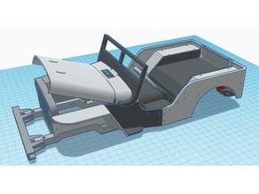 Ossum Jeep Hotrod Conversion Kit