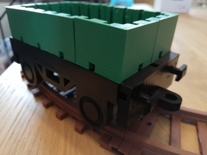 Open wagon for TKTrain - A kBricks based train system