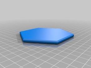 Minimalist Hexagon Coaster