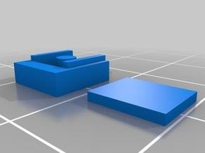 HO scale Kadee coupler box
