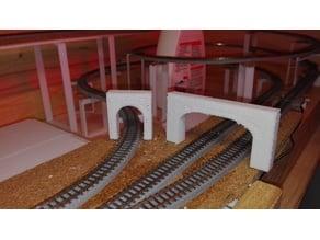 Tunnel Portal 2 tracks Z Gauge 1:220
